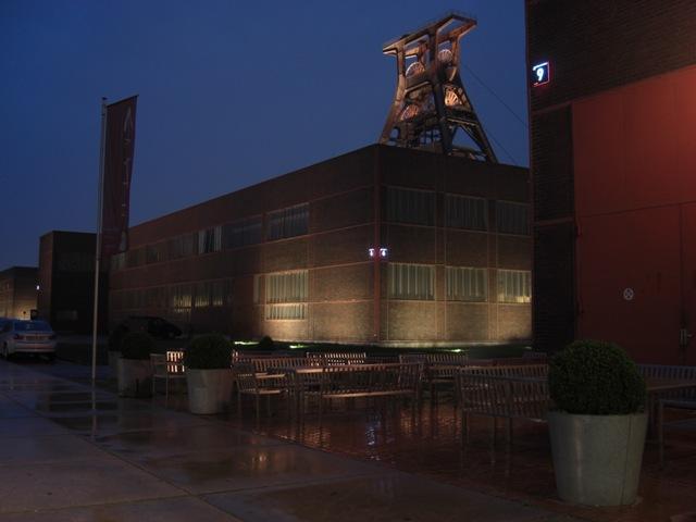 Zollverein bei Nacht
