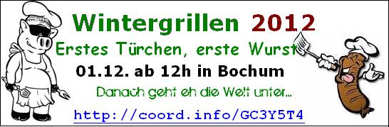 Banner Wintergrillen 2012